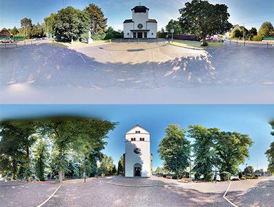 Virtuelle Rundgänge durch 2 Kirchen