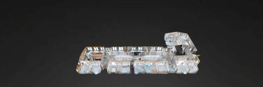 Baustellendokumentation Kita Gronerstraße Hürth mit 3D Kamera